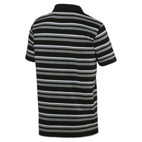 Thumbnail 2 of Essentials Short Sleeve Men's Polo Shirt, Cotton Black, medium