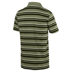 Thumbnail 3 of ESS+ Striped J Men's Polo, Olivine, medium
