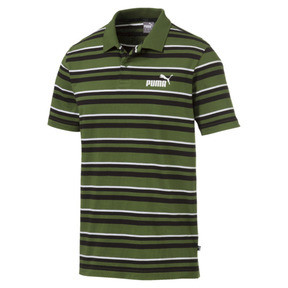 ESS+ Striped J Men's Polo