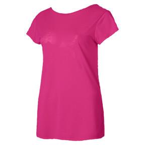 T-shirt de sport court souple, femme