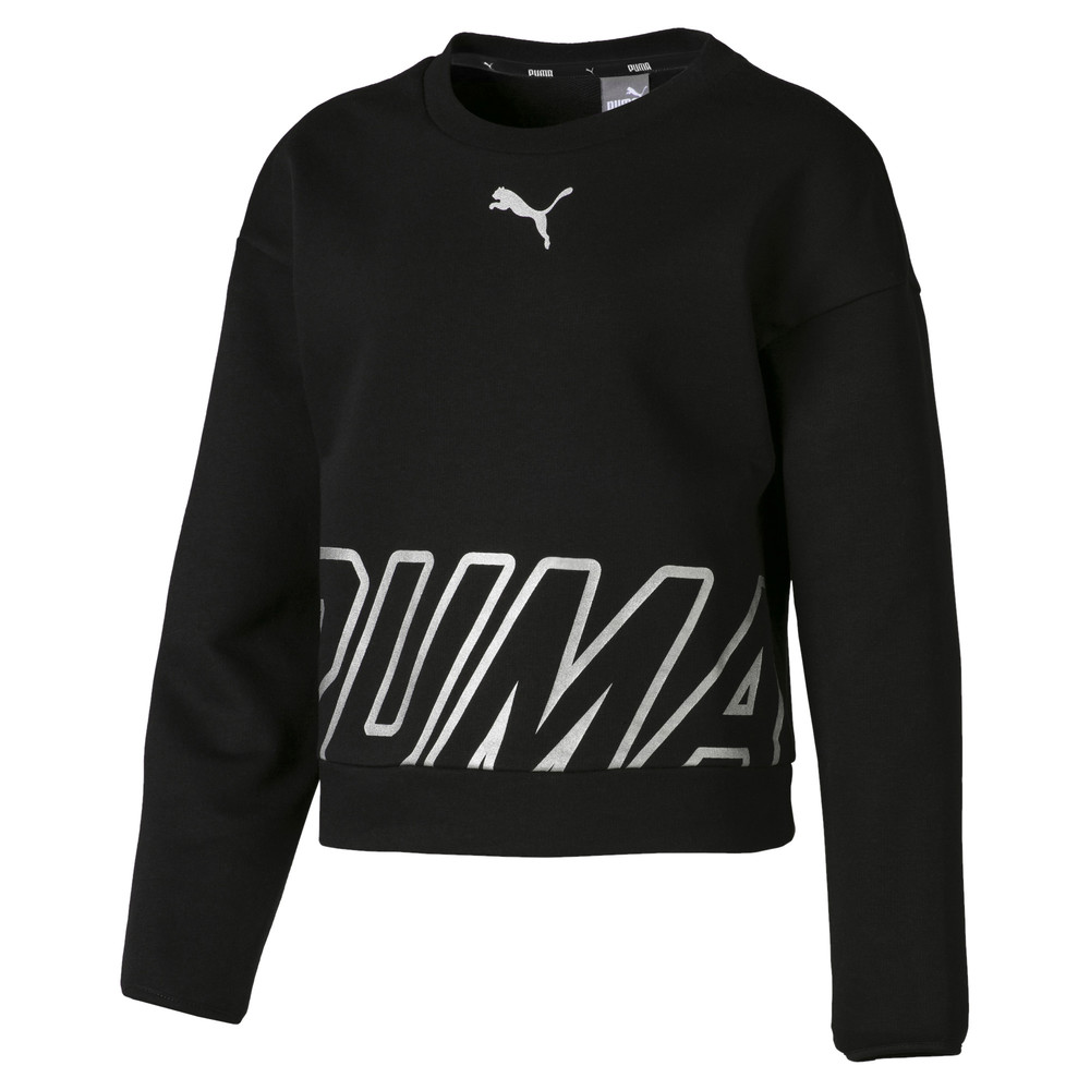 Image Puma Alpha Crew Neck Girls' Pullover #1