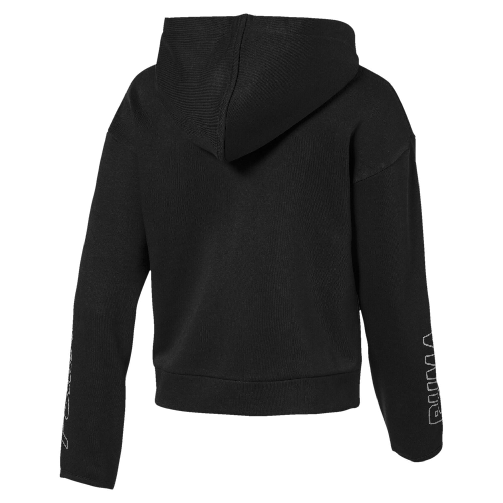Image Puma Alpha Hooded Girls' Sweat Jacket #2
