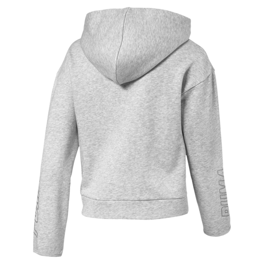 Image PUMA Alpha Hooded Girls' Sweat Jacket #2
