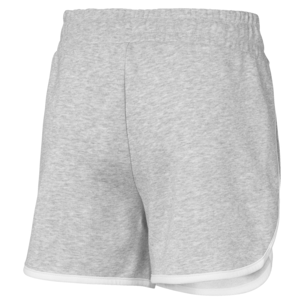 Image PUMA Alpha Girls' Sweat Shorts #2