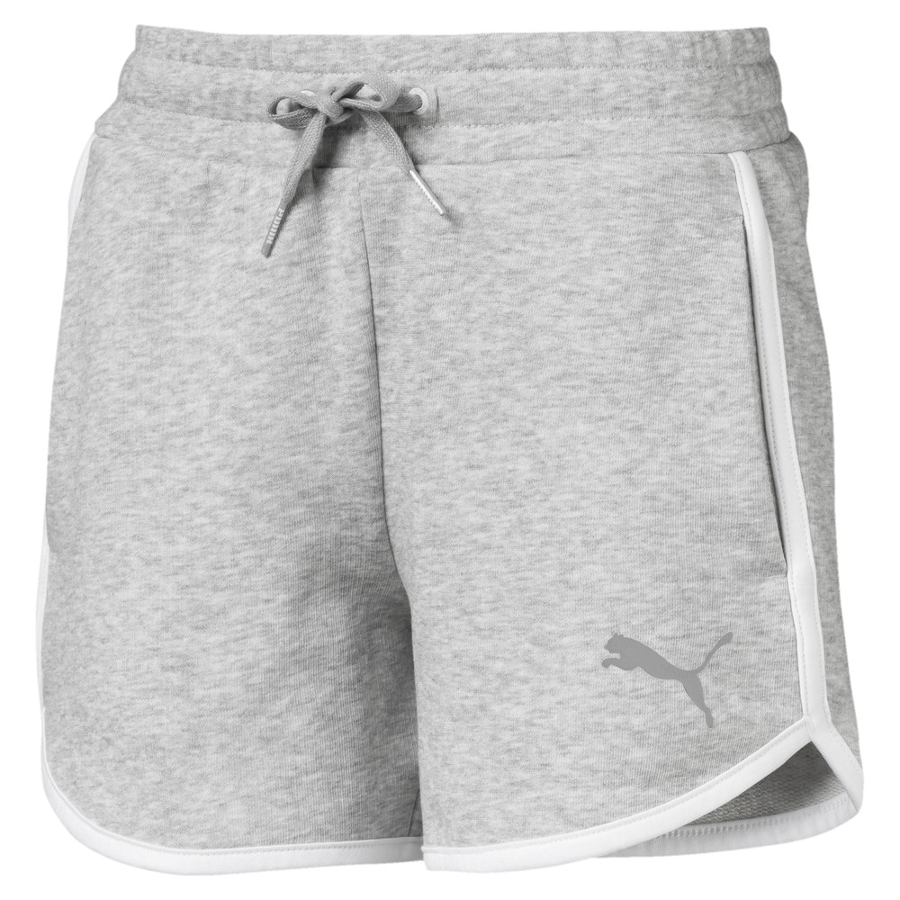 Image PUMA Alpha Girls' Sweat Shorts #1