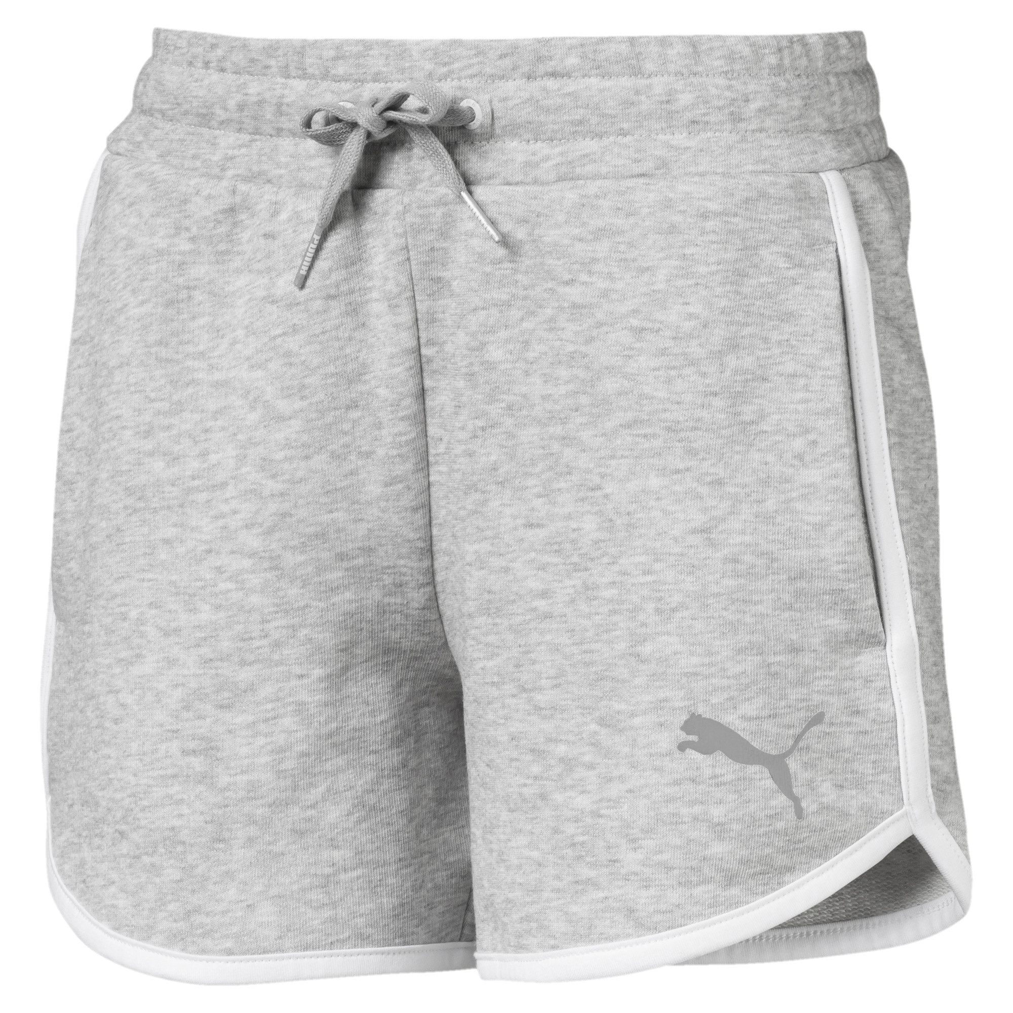 Image Puma Alpha Girls' Sweat Shorts #1