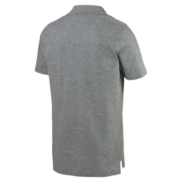 Modern Sports Men's Polo, Medium Gray Heather, large