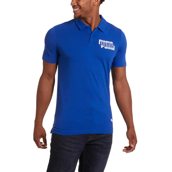 Modern Sports Men's Polo, Surf The Web, large