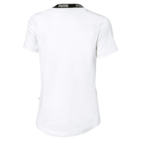 Thumbnail 2 of T-Shirt Amplified pour fille, Puma White, medium