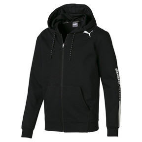 Modern Sports Hooded Men's Sweat Jacket