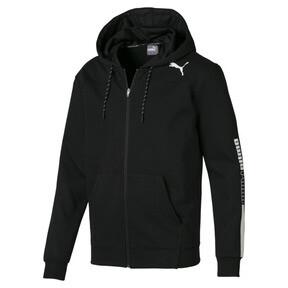 Thumbnail 4 of Modern Sports Hooded Men's Sweat Jacket, Puma Black, medium