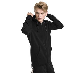 Thumbnail 1 of Modern Sports Hooded Men's Sweat Jacket, Puma Black, medium