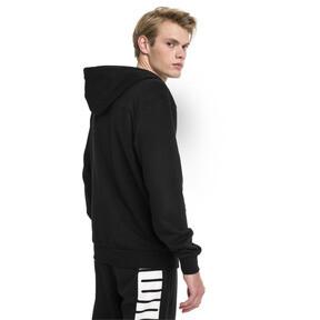 Thumbnail 2 of Modern Sports Hooded Men's Sweat Jacket, Puma Black, medium