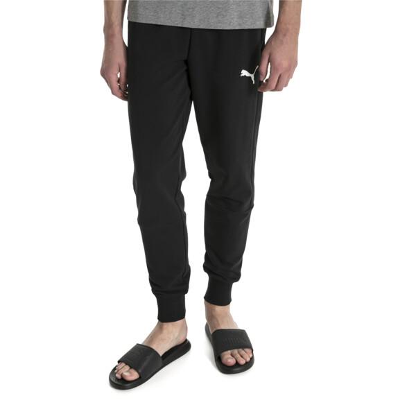 Modern Men's Sweatpants, Puma Black, large
