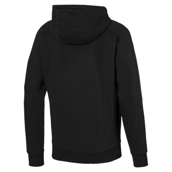 Active P48 Modern Sports Zip-Up Hooded Men's Sweat Jacket, Puma Black, large