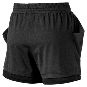 Thumbnail 5 of Soft Sports Women's Drapey Shorts, Puma Black Heather, medium