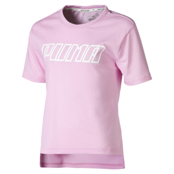 A.C.E. Girls' Tee, Pale Pink, large