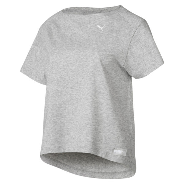 51ef8bef405 Fusion Tee | Light Gray Heather | PUMA T-Shirts | PUMA