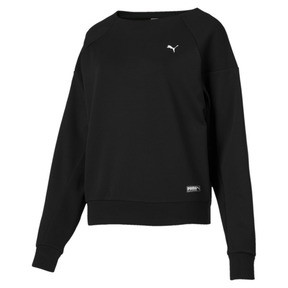 Thumbnail 4 of Fusion Damen Sweatshirt, Cotton Black, medium