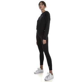 Thumbnail 3 of Fusion Damen Sweatshirt, Cotton Black, medium