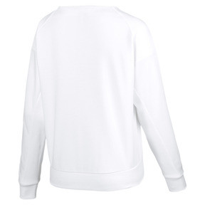 Thumbnail 5 of Fusion Women's Sweater, Puma White, medium