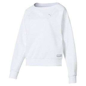 Thumbnail 4 of Fusion Women's Sweater, Puma White, medium