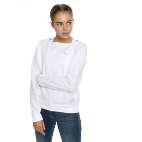 Thumbnail 1 of Fusion Women's Sweater, Puma White, medium
