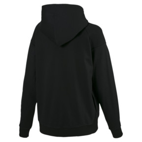 Thumbnail 3 of Fusion Women's Hoodie, Cotton Black, medium