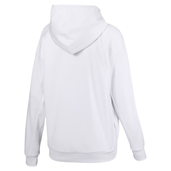 Fusion Women's Hoodie, Puma White, large