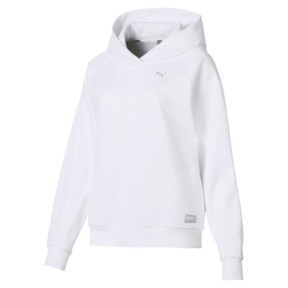 Thumbnail 4 of Fusion Women's Hoodie, Puma White, medium