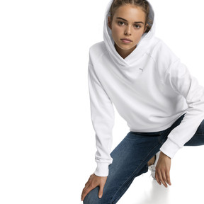 Thumbnail 1 of Fusion Women's Hoodie, Puma White, medium