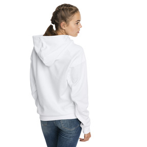 Thumbnail 2 of Fusion Women's Hoodie, Puma White, medium