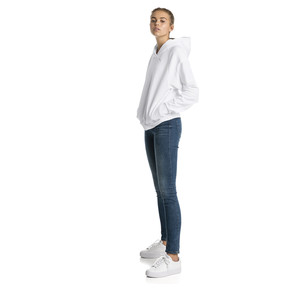 Thumbnail 3 of Fusion Women's Hoodie, Puma White, medium