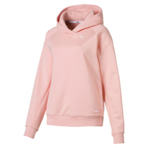Thumbnail 4 of Fusion Women's Hoodie, Peach Bud, medium