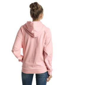 Thumbnail 2 of Fusion Women's Hoodie, Peach Bud, medium