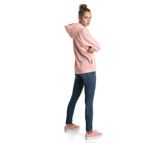 Thumbnail 3 of Fusion Women's Hoodie, Peach Bud, medium
