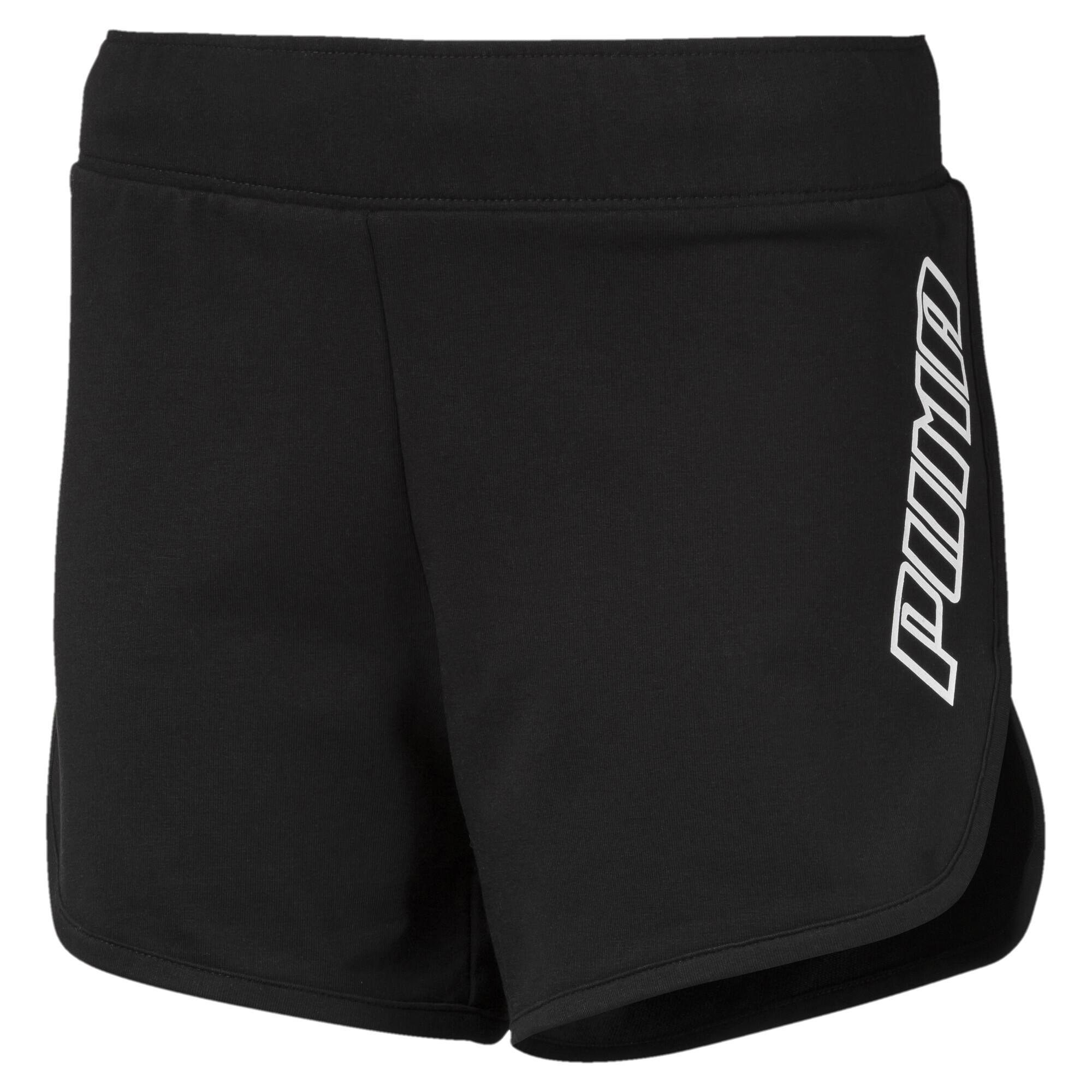 Image Puma A.C.E. Girls' Sweat Shorts #1