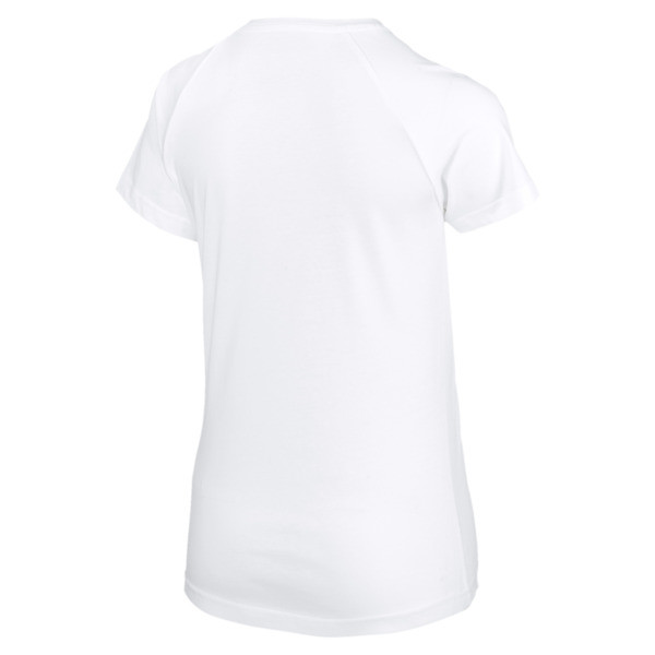 Font Graphic Tee, Puma White, large