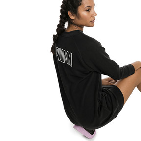 Thumbnail 2 of Athletics Damen Sweatkleid, Puma Black, medium