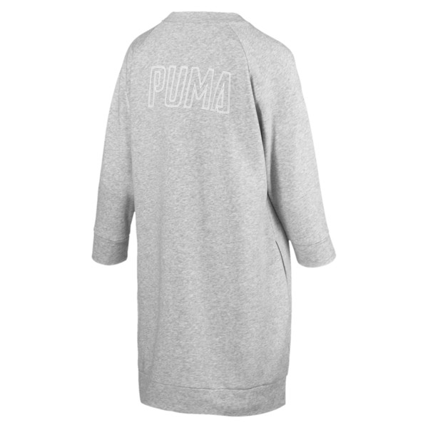 Athletics Women's Sweat Dress, Light Gray Heather, large