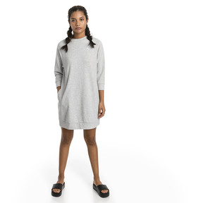 Thumbnail 3 of Athletics Women's Sweat Dress, Light Gray Heather, medium