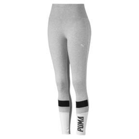 Thumbnail 4 of Athletics Graphic Women's Leggings, Light Gray Heather, medium