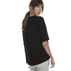 Thumbnail 2 of Summer Women's Fashion Tee, Cotton Black, medium