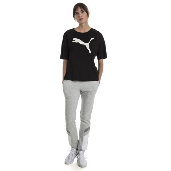 Summer Women's Fashion Tee, Cotton Black, large