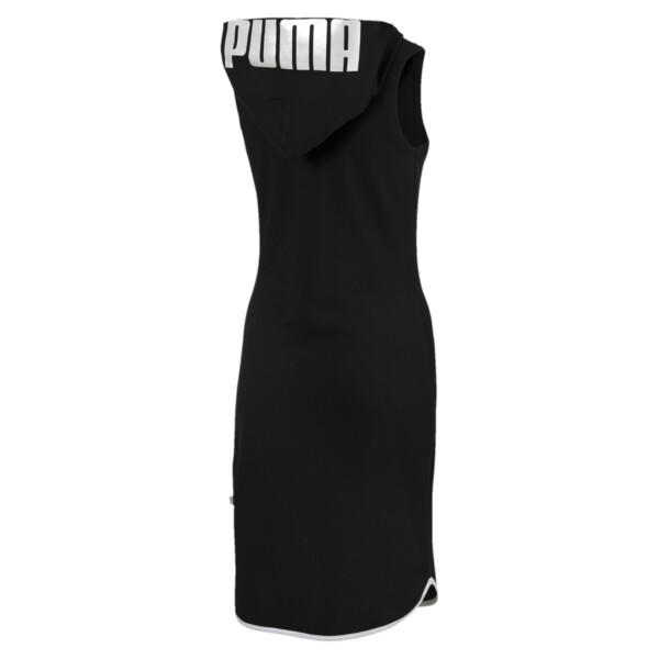 Summer Women's Dress, Cotton Black, large