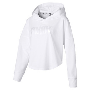 Summer Light Cropped Women's Hoodie