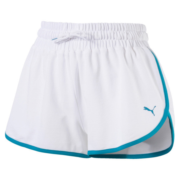 Women's Summer Shorts, Puma White, large