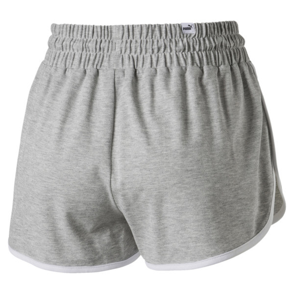 Women's Summer Shorts, Light Gray Heather, large