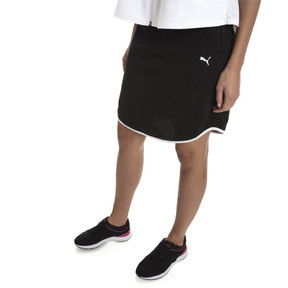 Thumbnail 1 of Women's Summer Skirt, Cotton Black, medium
