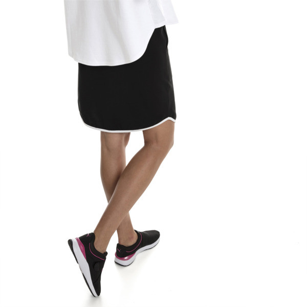 Women's Summer Skirt, Cotton Black, large